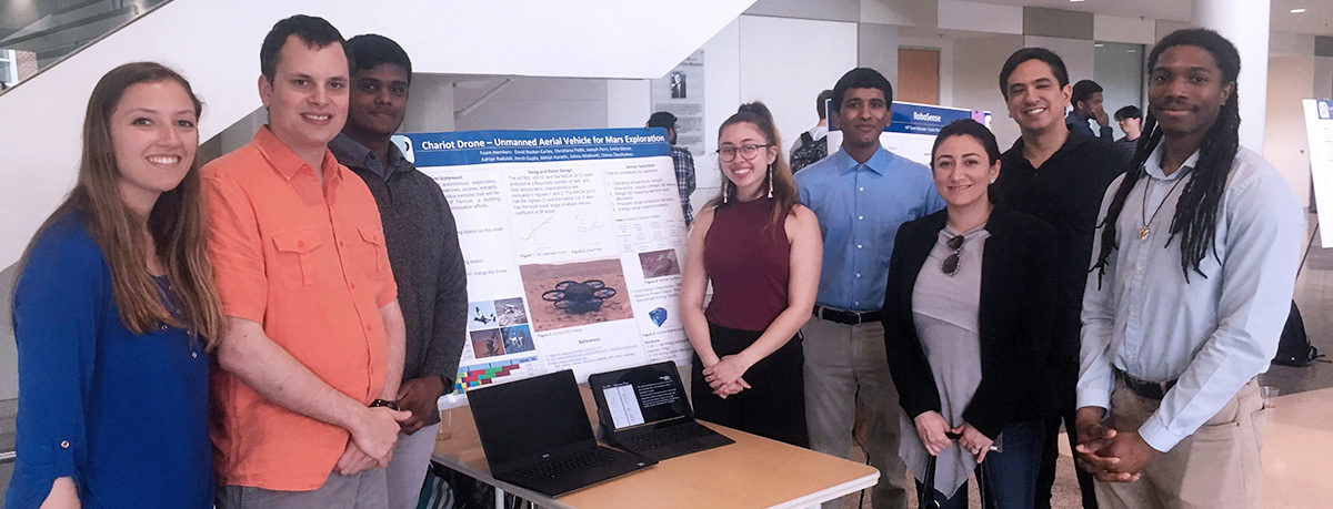 Team Chariot wins 1st place Systems Engineering Award