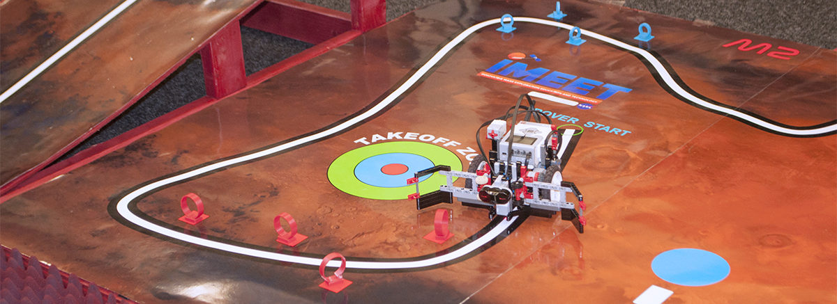 Student Designed Mars Rover Starts the IMEET Course