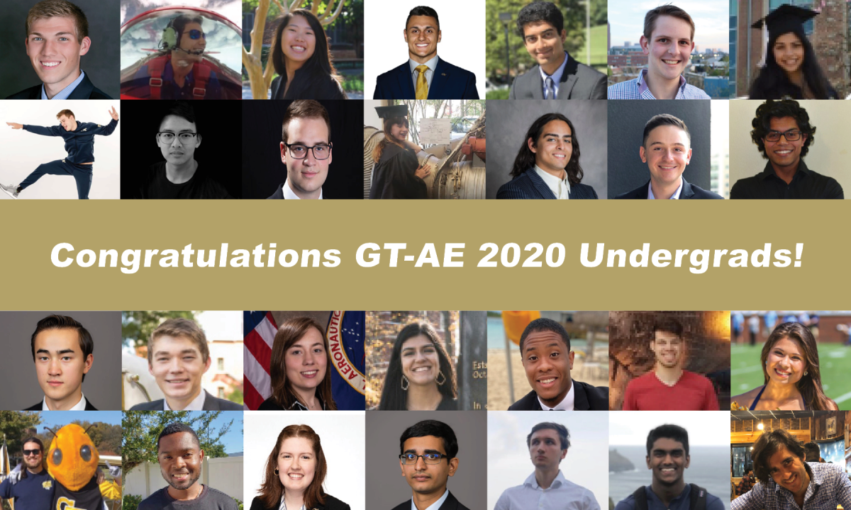 The Undergraduates of the Class of 2020 GT Aerospace Engineering