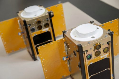 The two RANGE cubesats