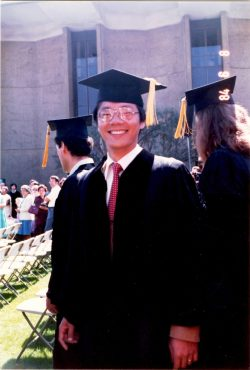 Vigor Yang as a grad student at Cal Tech