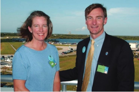 """<p><strong>Helen B. and Roger A. Krone</strong><em>are longtime supporters of the Daniel Guggenheim School of Aerospace Engineering. Of their latest act of philanthropy, Roger Krone commented, """"""""We are pleased that this helped push AE over the top. I am not sure we deserve any special recognition, as each dollar in the Campaign is important.""""</em></p>"""