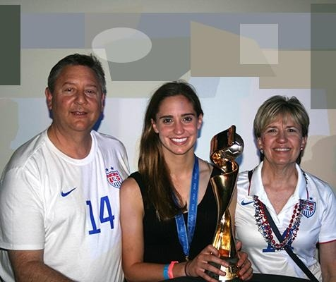 <p>Steve and Vickie Brian have always embraced the excitement, and the struggles, of their soccer phenom daughter, Morgan.</p>